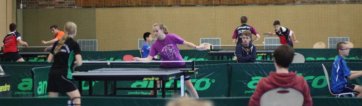 Siegerin bei den Mädchen: Xenia Steinorth vom TTC Neukölln