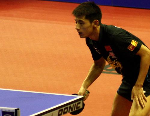 Zhang Jike zeigte im Viertelfinale nicht sein bestes Tischtennis ...