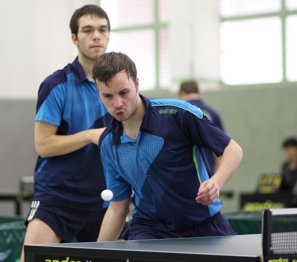 2. Herren: Martin Sütterlin (vorne) und Ramon Brückner