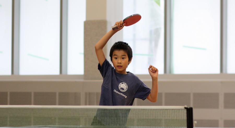 Zhoucheng: 1. Platz Bambini-Trostrunde