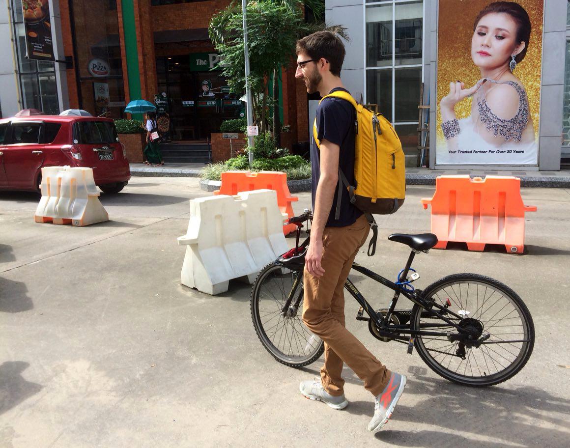 Bei so einem Fahrrad kann man gar nicht widerstehen.
