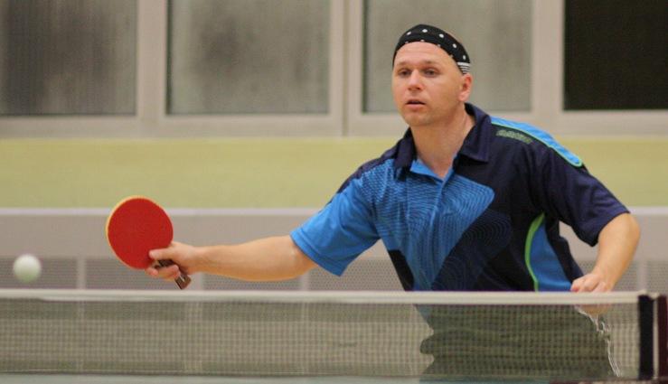 Thomas Weißenborn (2. Herren) spielte im oberen Paarkreuz der Landesliga in der Rückrunde ausgeglichen (8:8).
