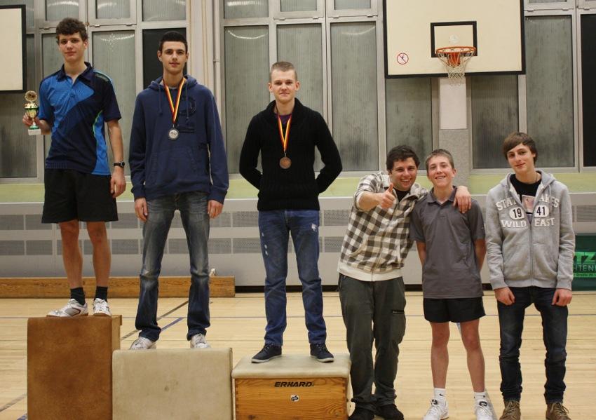Siegerehrung Vereinsrangliste 2012: Jugend und Junioren