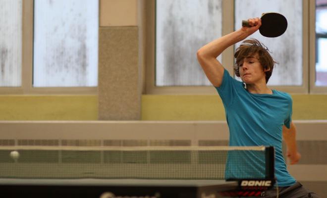 Robin Mitbach (1. Jungen und 4. Herren) erreichte mit der Jungenmannschaft den 4. Platz in der Meisterrunde.