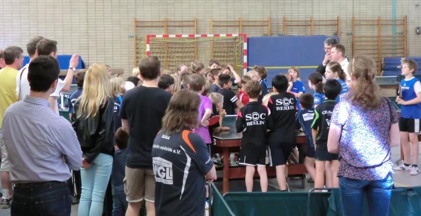 Ausrichter der C-Schüler/innen-Bestenspiele war das Leistungszentrum. Etwa 50 Teilnehmer/innen wurden gemeldetet.