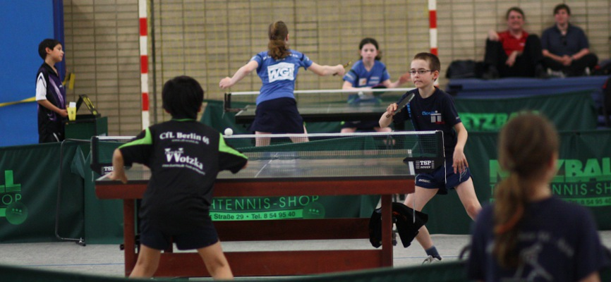 Im Einzelfinale standen sich Affeldt (KSVA) und Mann (CfL) gegenüber.