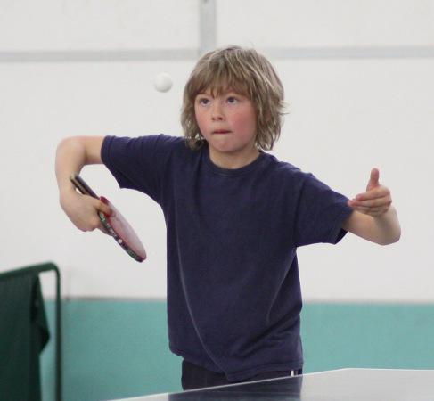 Julien Markau, als C-Schüler bereits wichtiger Bestandteil der B-Schülermannschaft.