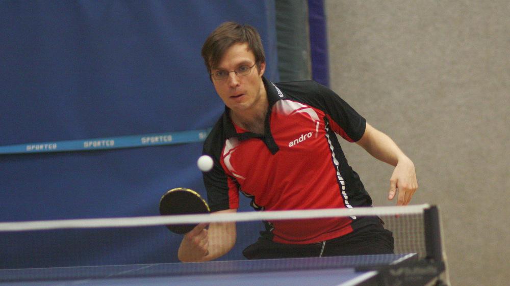 Gerade noch dem Lazarett entronnen, lieferte Sascha starke Leistungen und zwei Punkte.