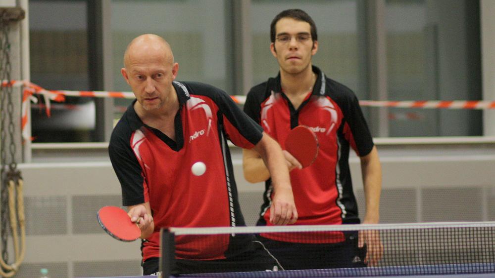 Erfolgreiches Einserdoppel: Peter und Ramon