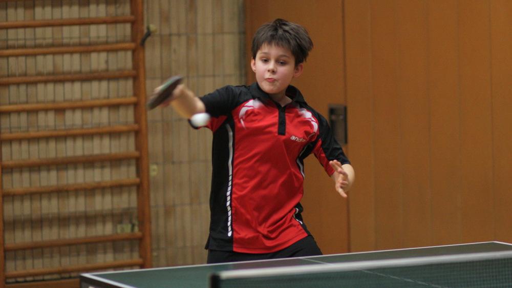 Mit 5:4 belegte Fabian den 5. Platz in Gruppe 2