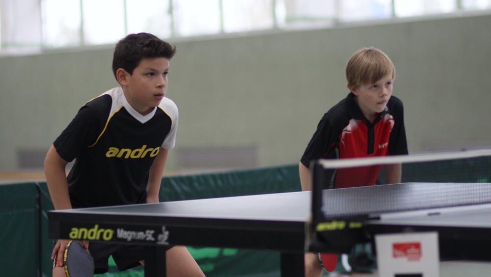 1. Platz im Doppel für Jan mit seinem Partner André vom SCC