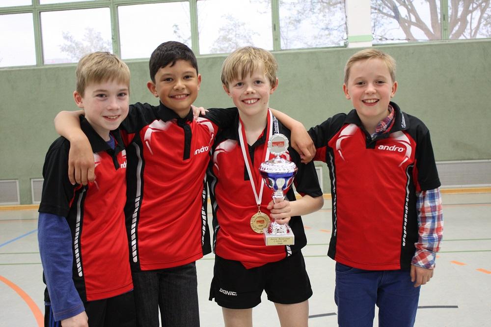 STTK-Teilnehmer (von links, Valentin fehlt): Felix, Raden, Jan, Michel