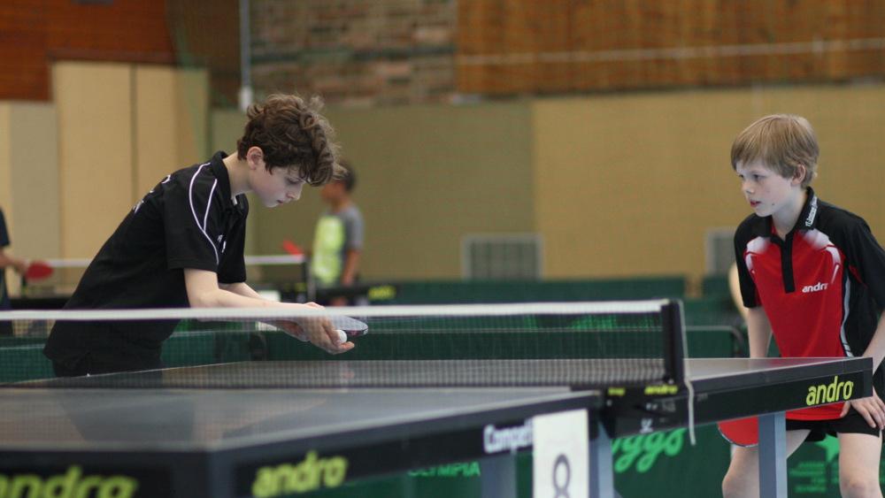 3. Platz im Doppel: Jan mit seinem Partner A. Sahakiants vom SCC