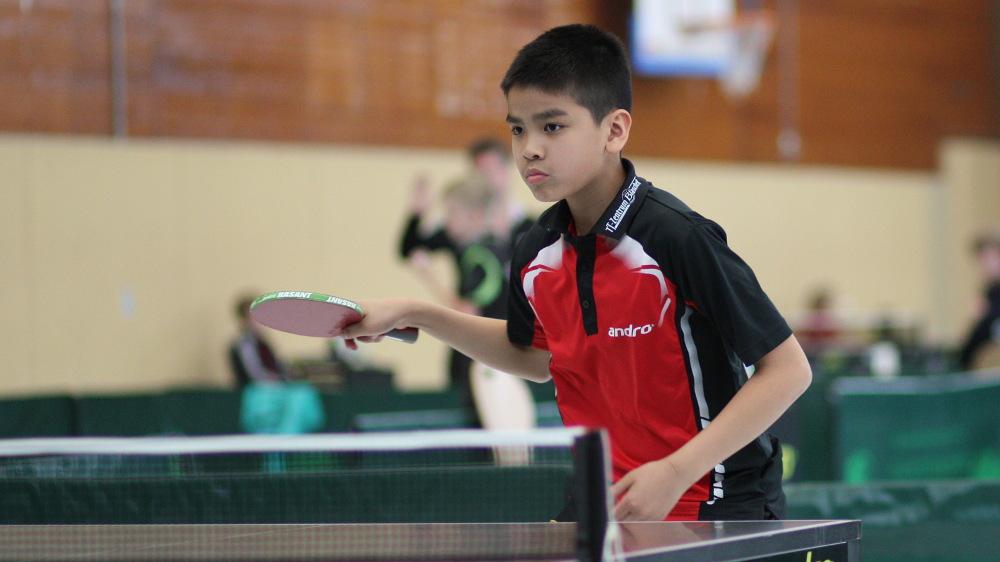 Minh konnte leider kein Spiel in der Vorrunde gewinnen.