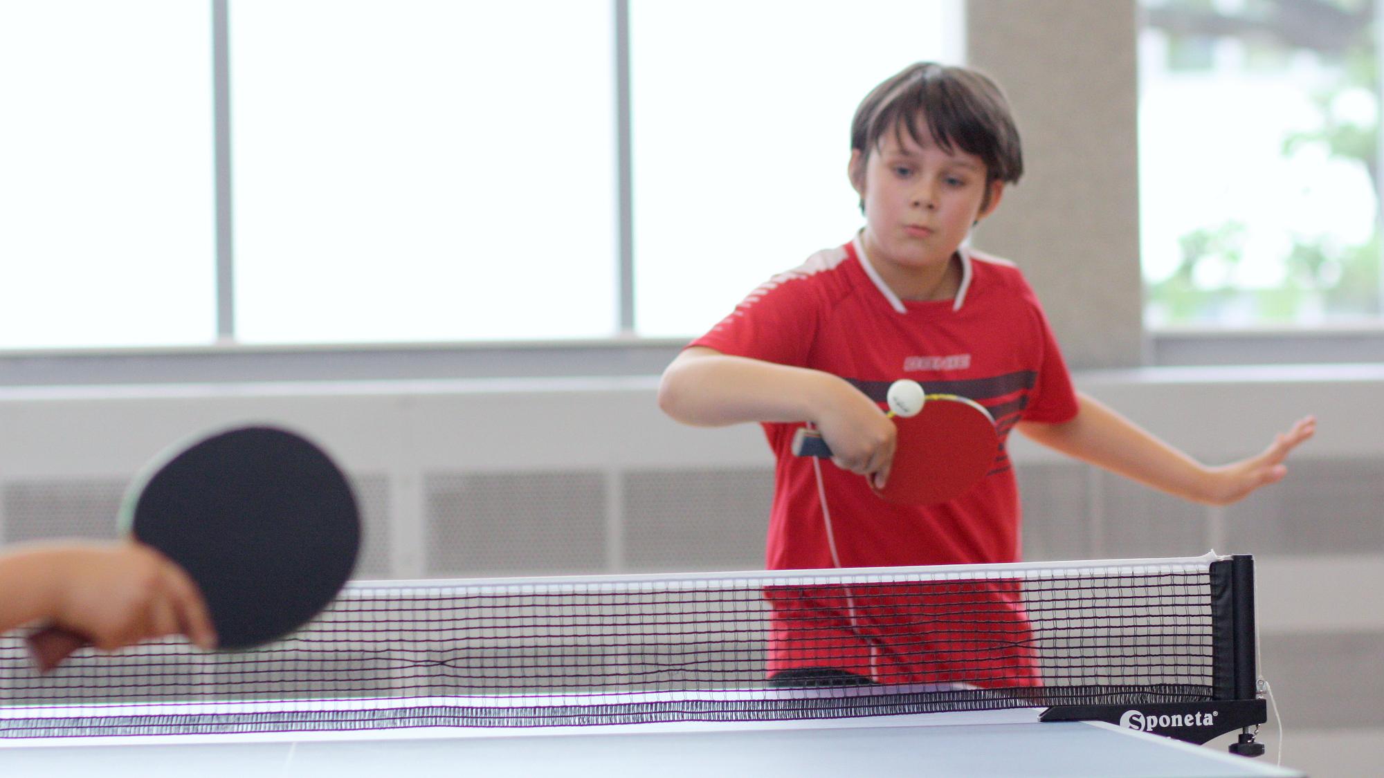 Fabian kam ins Viertelfinale, konnte dort aber nicht gegen Timo gewinnen.