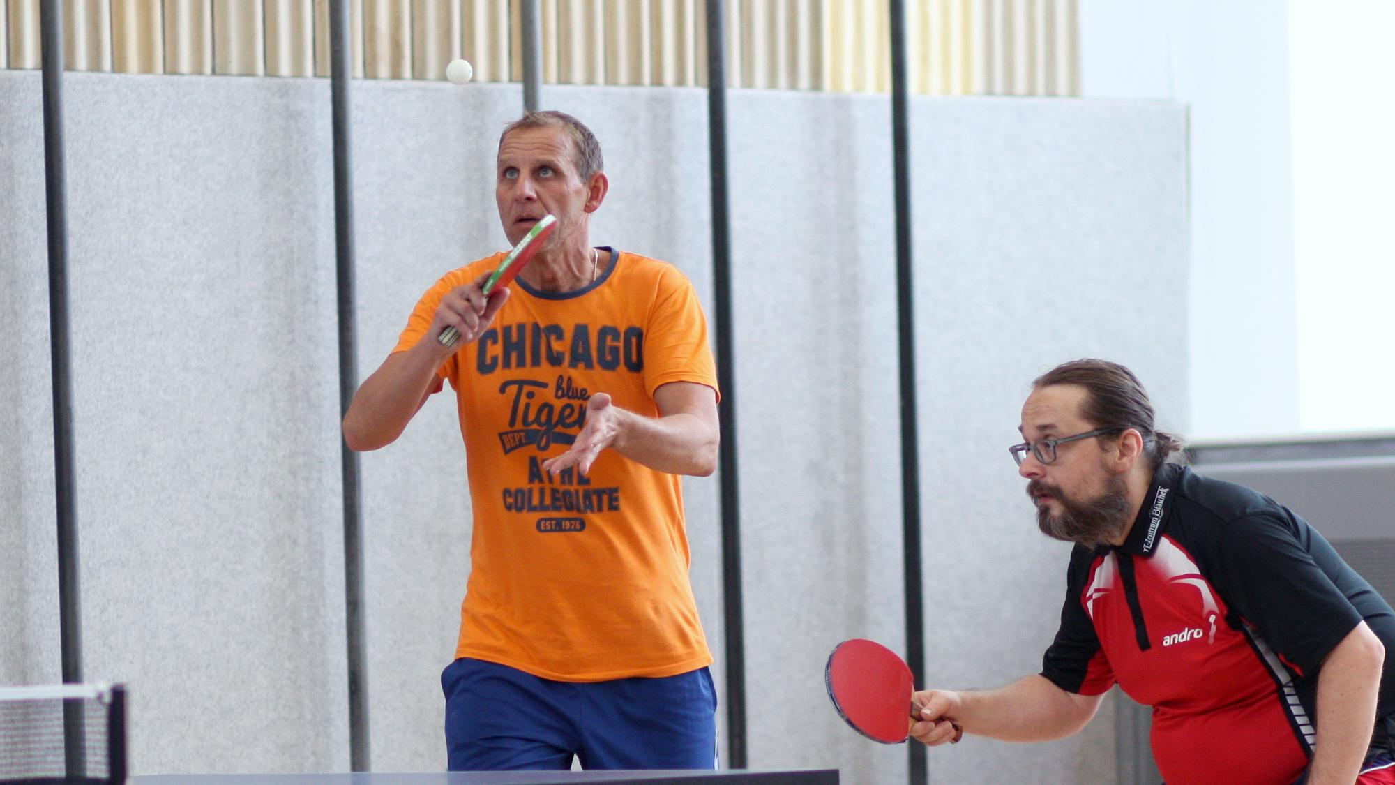 3. Platz: Daniel (links) und Tobias
