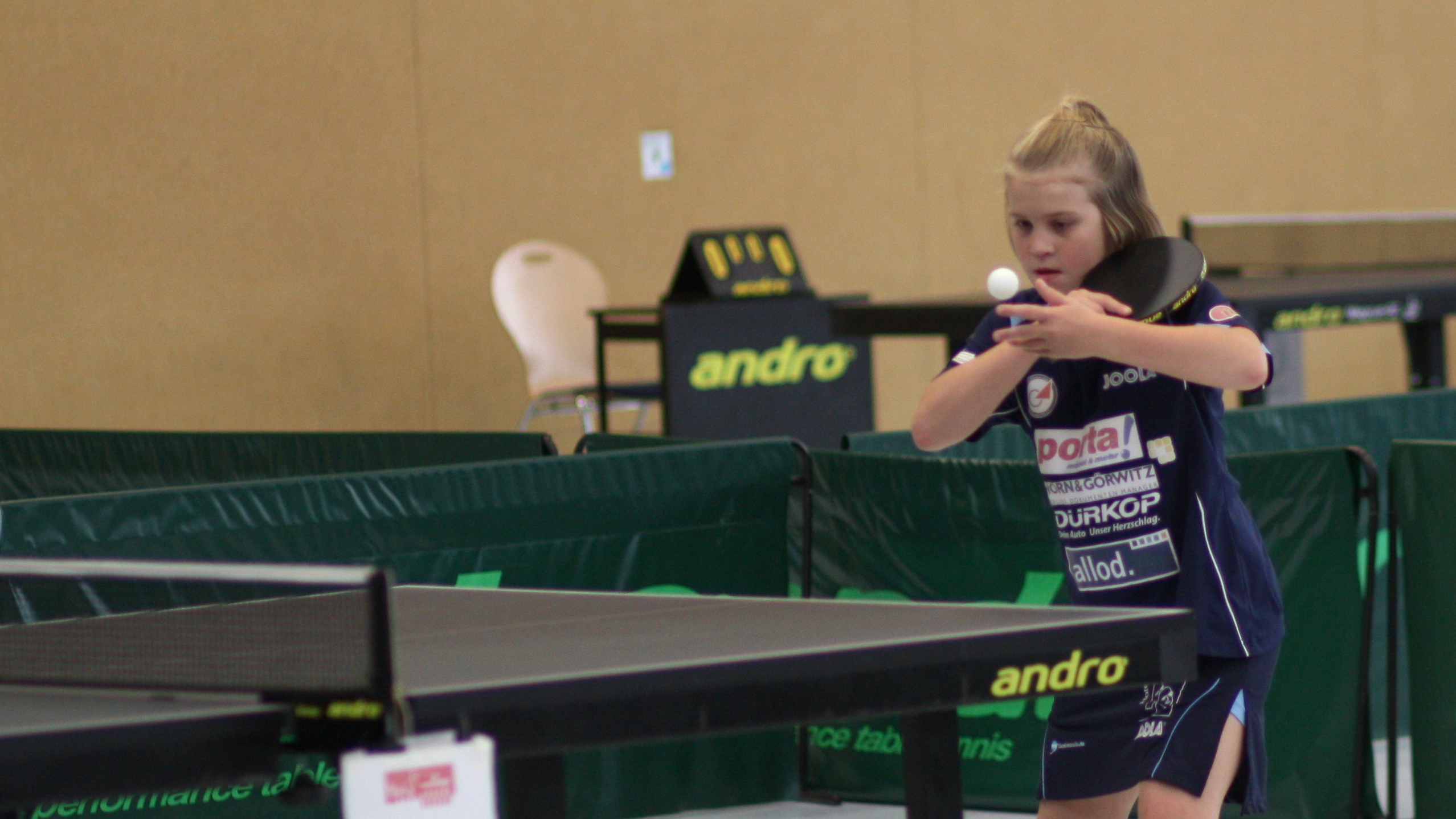 Auch im eastside-Dress weiterhin erfolgreich: Landesranglisten-Siegerin der B-Schülerinnen Josphine Plonies.