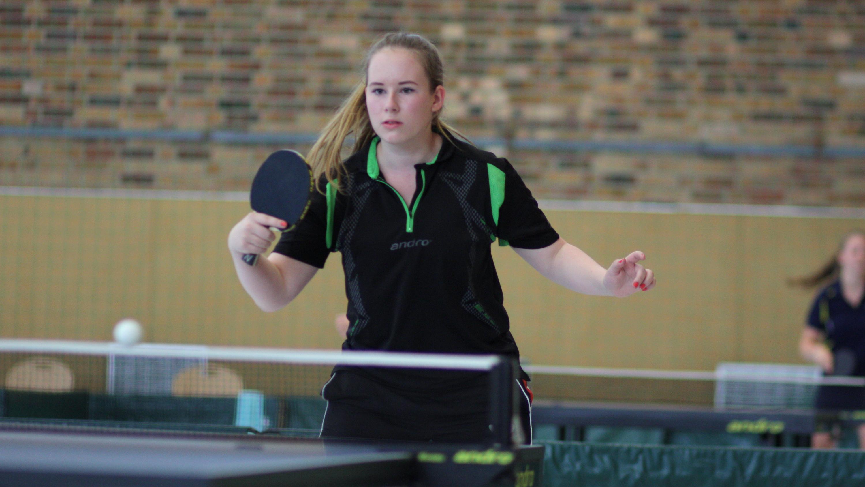 War zum ersten Mal seit langem wieder bei einem größeren Mädchen-Turnier dabei und belegte am Ende Platz 10: Alina.