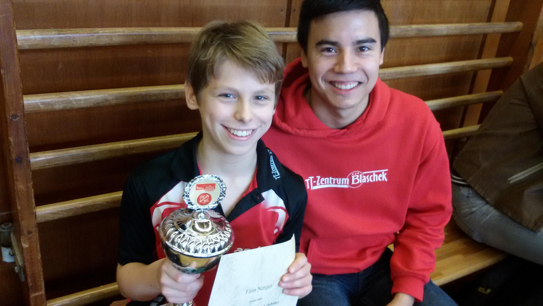 Finn und Betreuer Marc (Foto: Nerger)