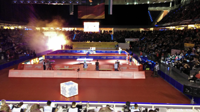 Vom 27.01. bis zum 31.01.16 fanden die German Open in der Max-Schmeling-Halle statt.