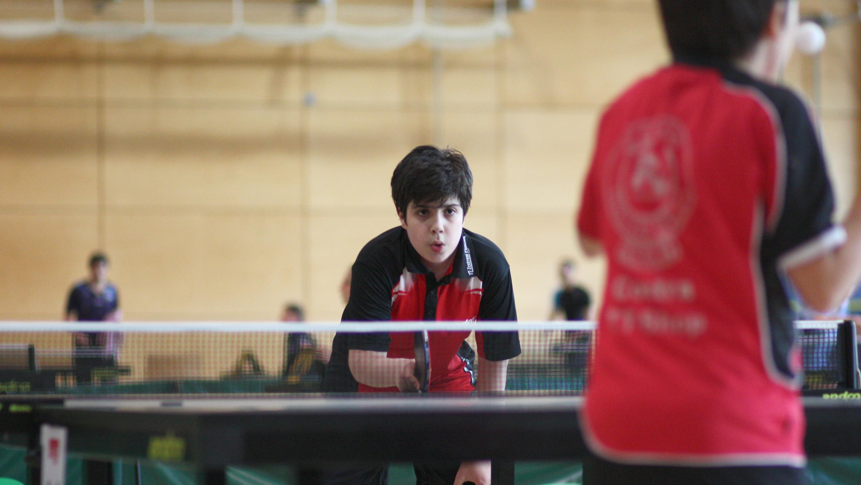 Miguel im Halbfinale gegen Rotation Prenzlauer Berg