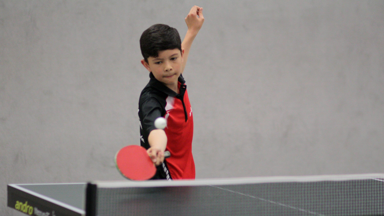 Je länger das Turnier dauerte, desto besser spielte Raden - im Einzel wie im Doppel.