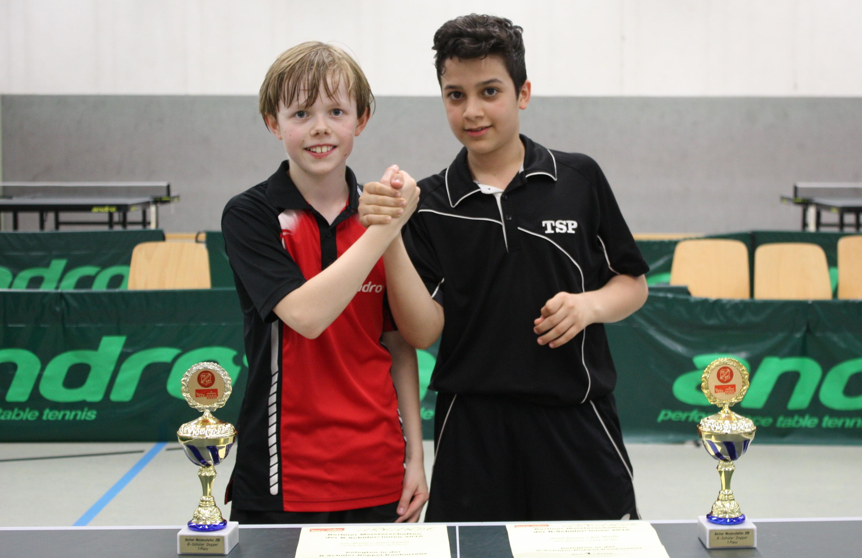 Auch nach dem Einzelfinale noch beste Freunde: Jan und Jamil.