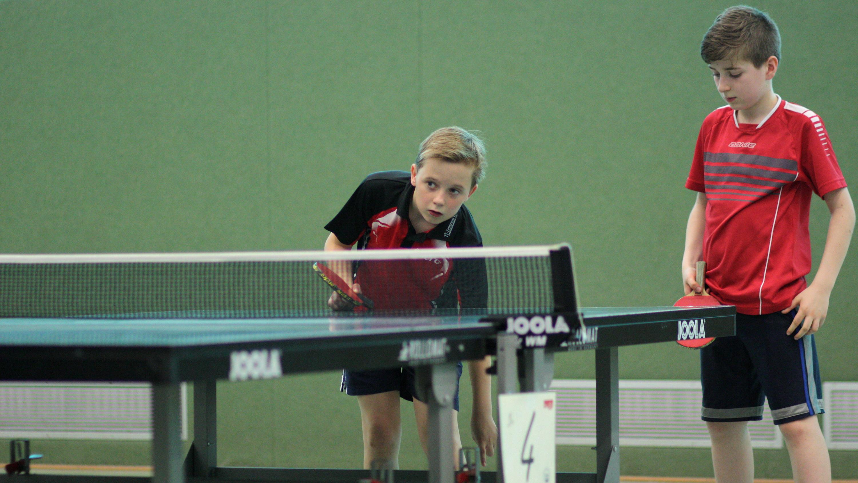Michel und Timo gewinnen die Bronzemedaille im Doppel.