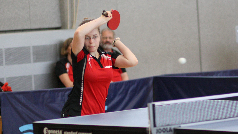 Holte sich den Titel der Damen-Konkurrenz zurück und konnte außerdem in der Vorrunde der Herren-Konkurrenz fast den Erstgestzten ihrer Gruppe schlagen: Svenja.