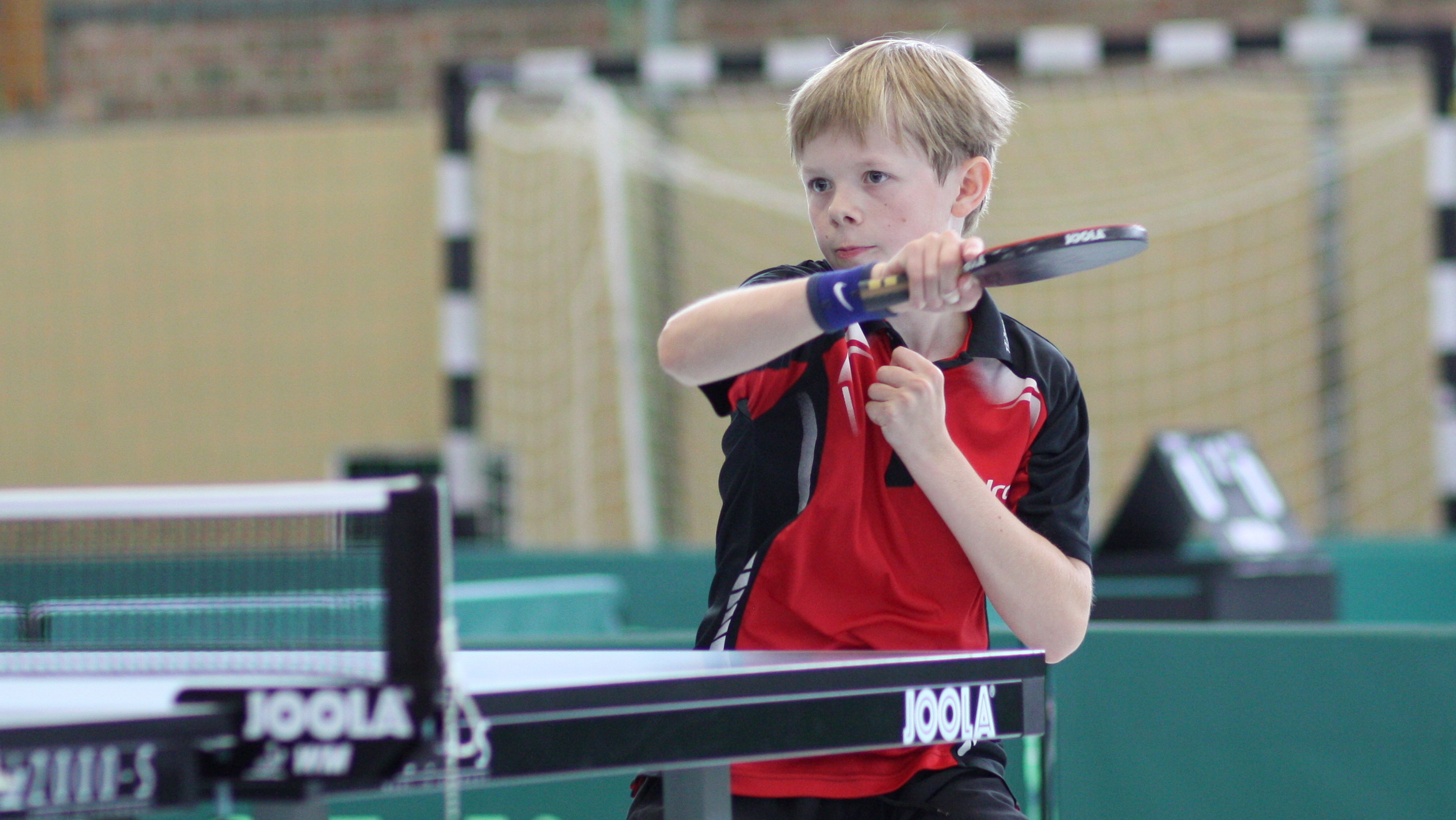 Jan gab im ganzen Turnier nur einen Satz ab und wurde souverän Ranglistensieger der B-Schüler 2016