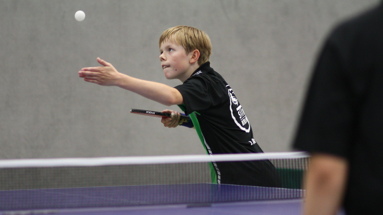 Jan belegte auch bei der A-Schüler-Landesrangliste den 1. Platz