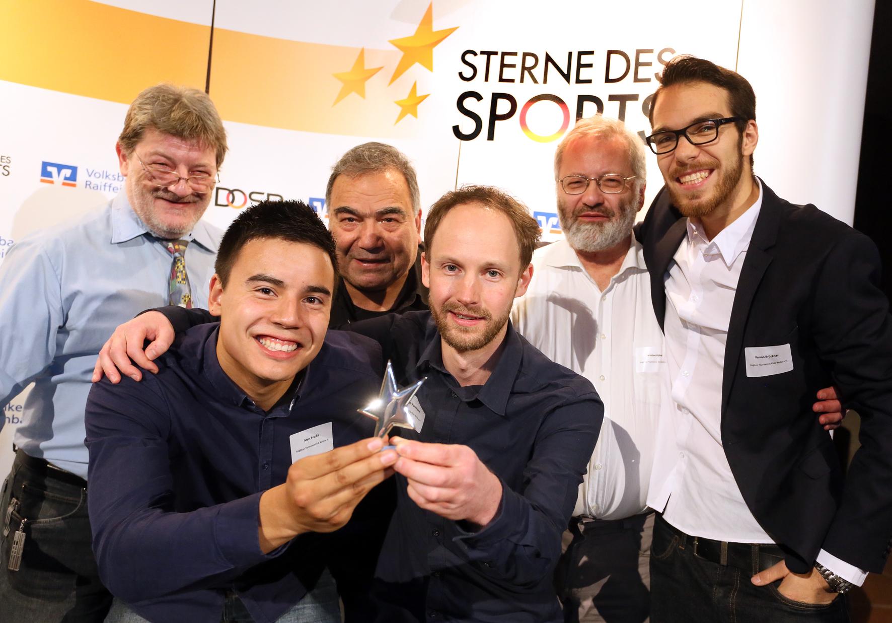 Sterne des Sports 2016: Stern in Silber für den Steglitzer TTK (Foto: Stephanie Pilick)