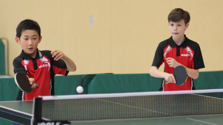 Jiahe und Mads sorgten mit dem Gewinn der Bronzemedaille für eine der Überraschungen des Turniers.