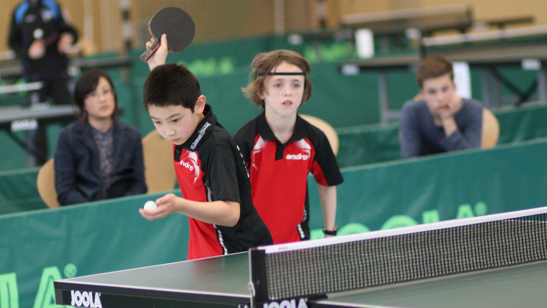 Jiayu und Oscar waren eines der favorisierten Doppel und wurden dieser Erwartung auch gerecht: Mit 3:1 gewannen sie das Finale und sicherten sich den Titel.