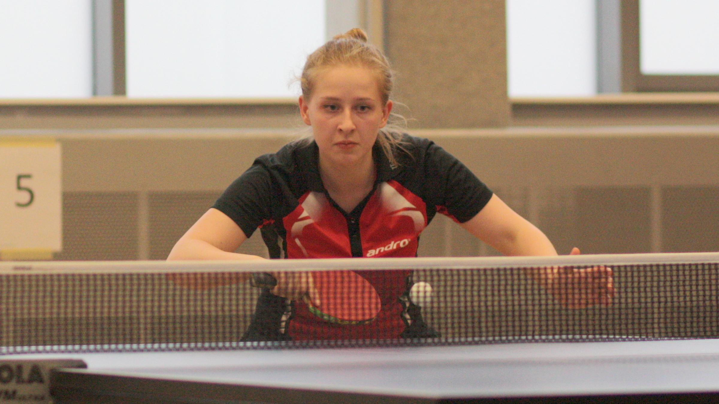 Sophie bei den Vereinsmeisterschaften 2017