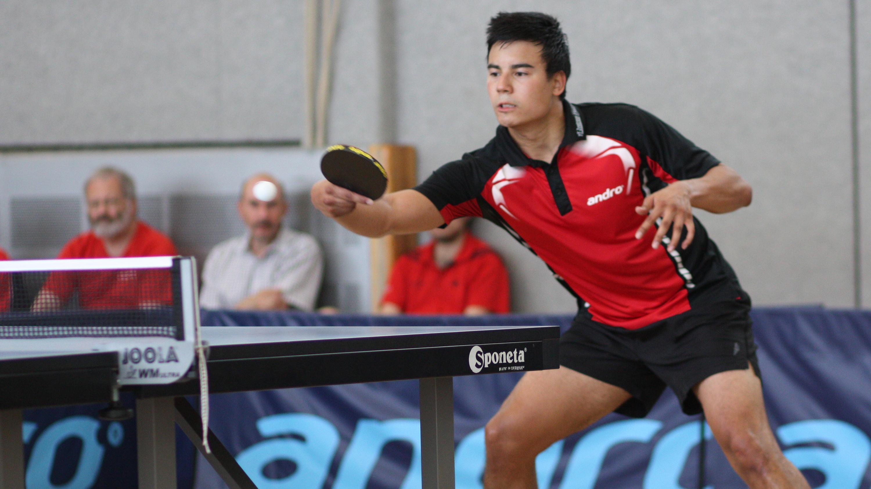 Marc kam ins Halbfinale, musste sich da aber einem starken Lennart geschlagen geben.