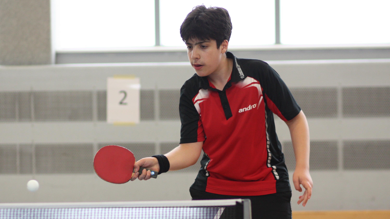 Miguel wurde Erster bei den A-Schülern und Zweiter bei den Jungen.