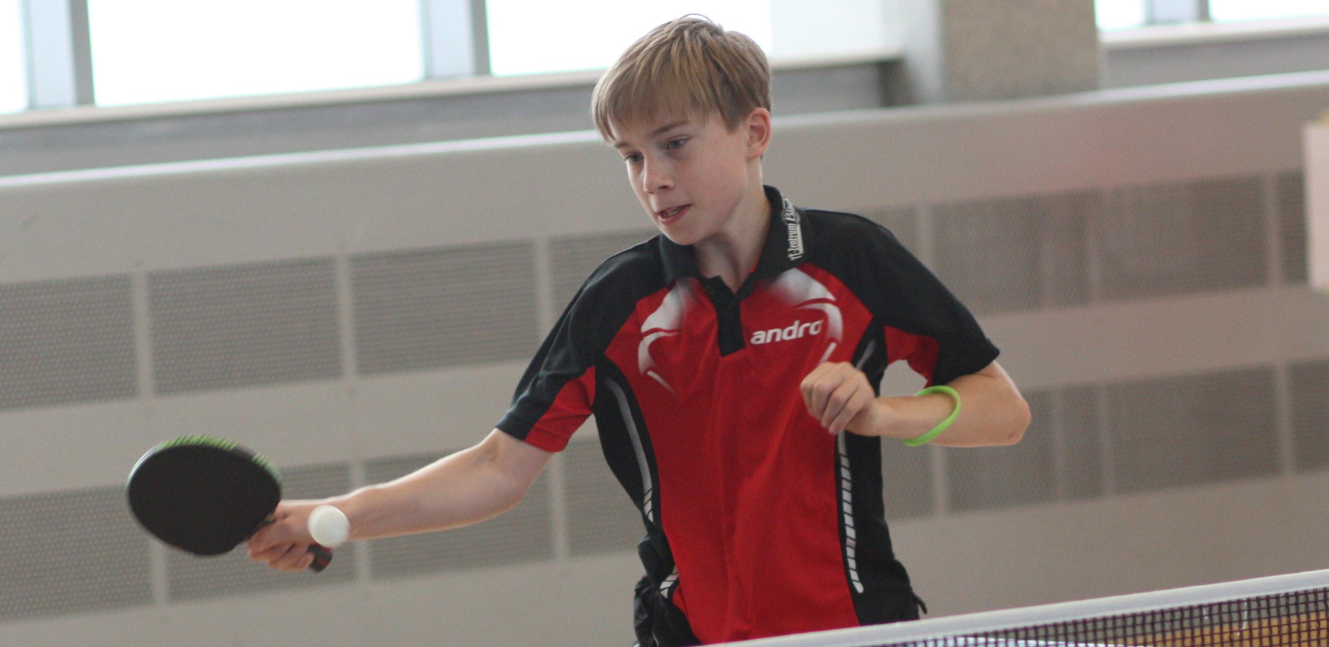 Felix gewann bei den A- und bei den B-Schülern eine Bronzemedaille.