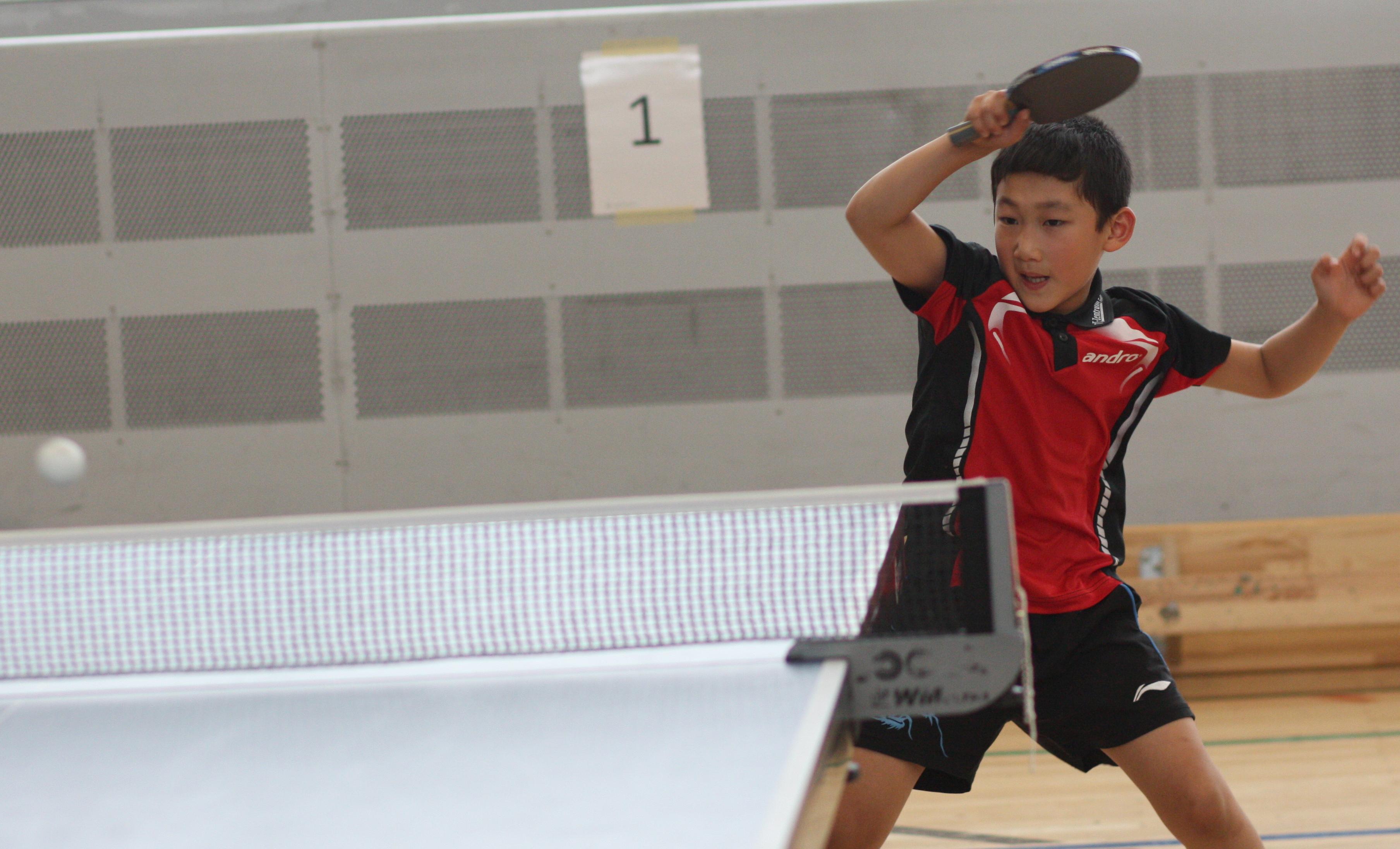 D-Schüler Jiahe: 3. Platz bei den C-Schülern