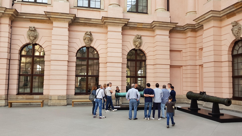 Innenhof des Deutschen Historischen Museums (Foto: S. Knecht)