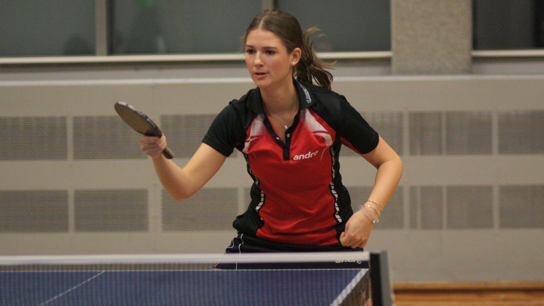 Alina im Spiel gegen TTC Borussia Spandau