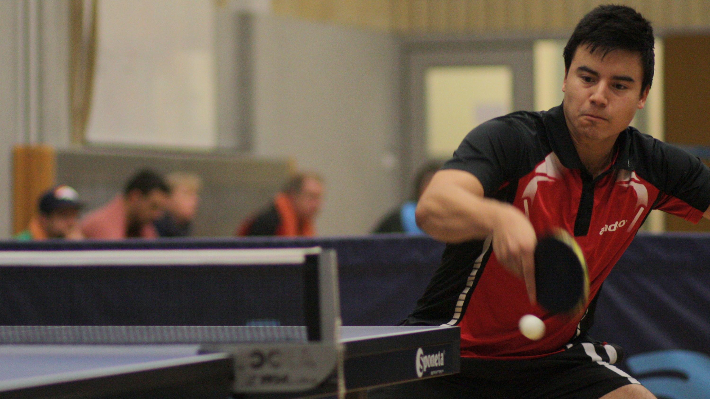 Archivbild: Marc im Spiel gegen TuSLi am 26.11.17