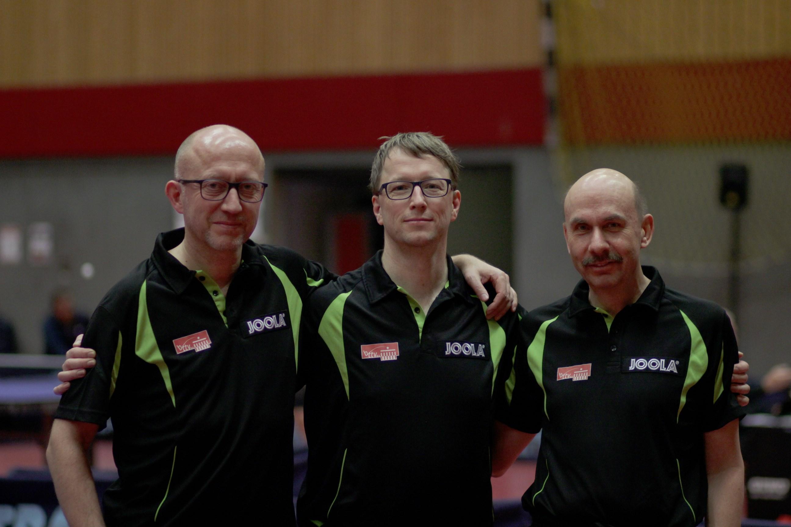 Peter, Thomas, Martin (von links)