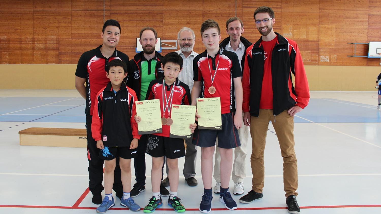 Das STTK-Team am zweiten Turniertag (Foto: Y. Tong)