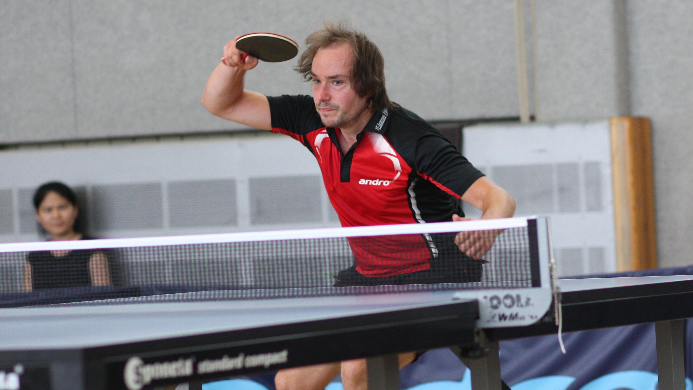 Lennart: Vereinsmeister bei den Erwachsenen im Einzel und im Doppel mit Alex