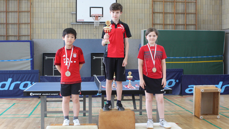 Siegerehrung Vereinsmeisterschaften C-Schüler_innen