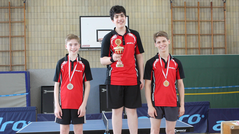 Siegerehrung Vereinsmeisterschaften Jugend