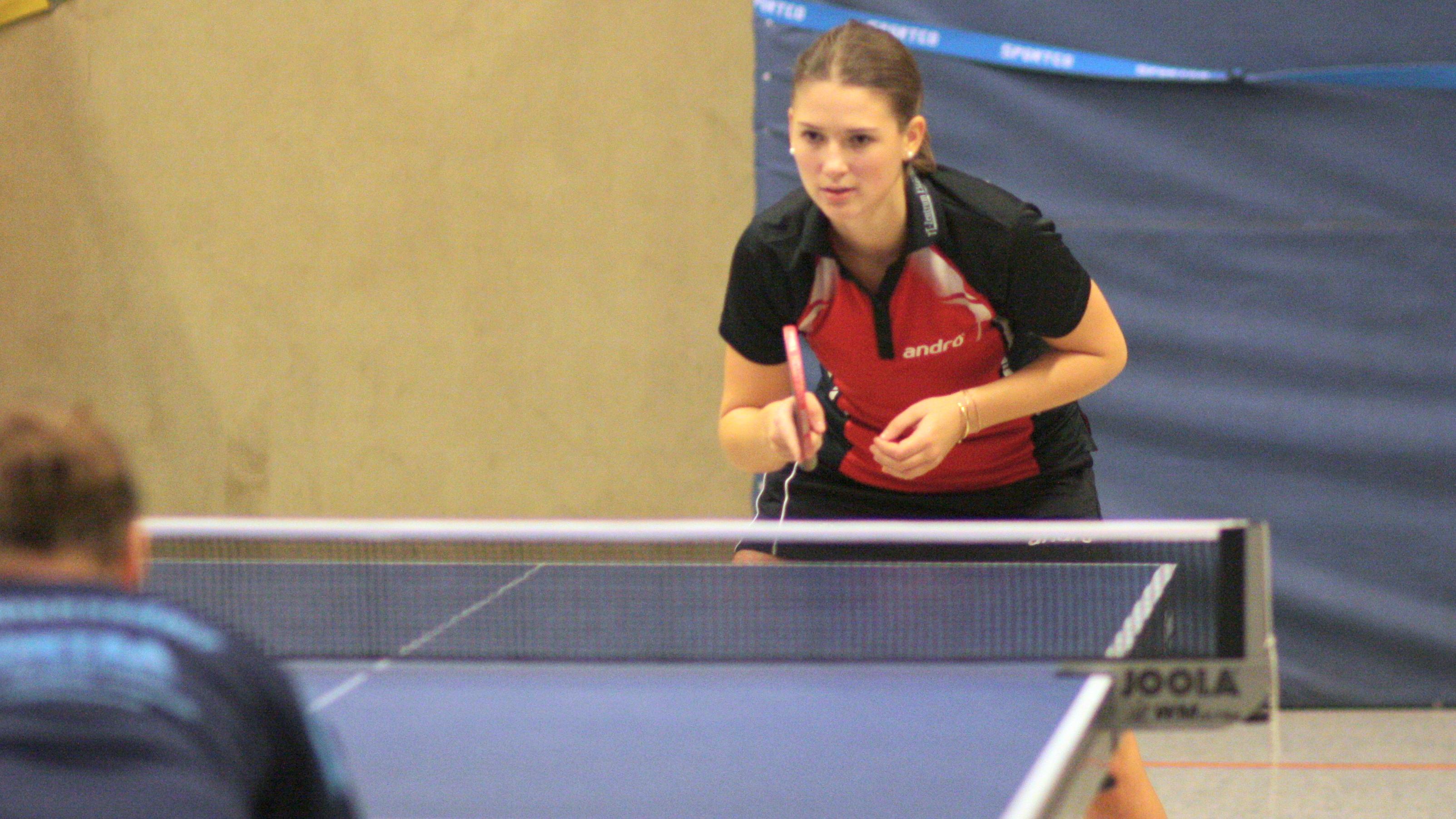 Alina im Spiel gegen Stahnsdorf II