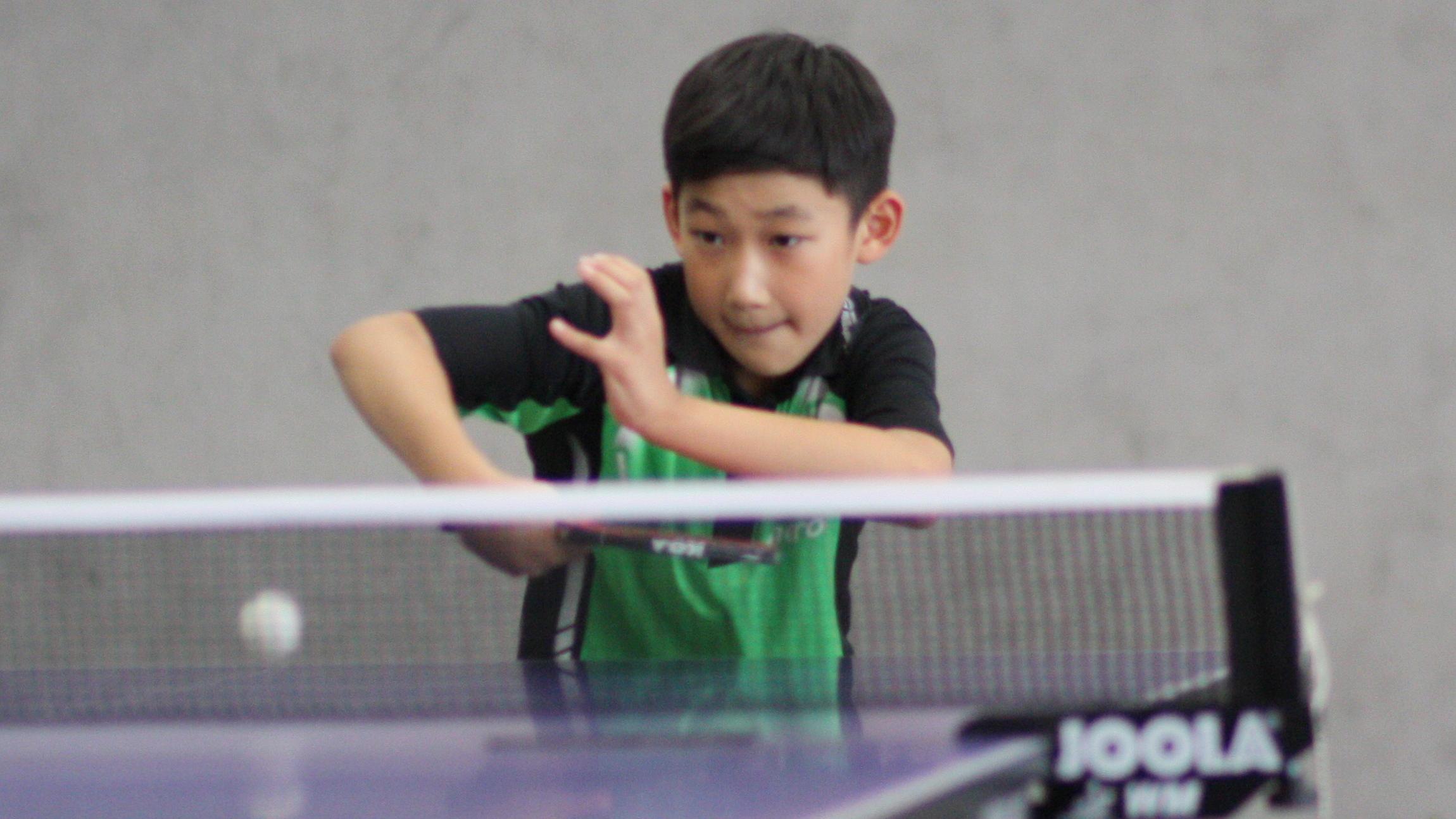 Jiahe, 4. Platz bei der 1. Vorrangliste Jungen 13