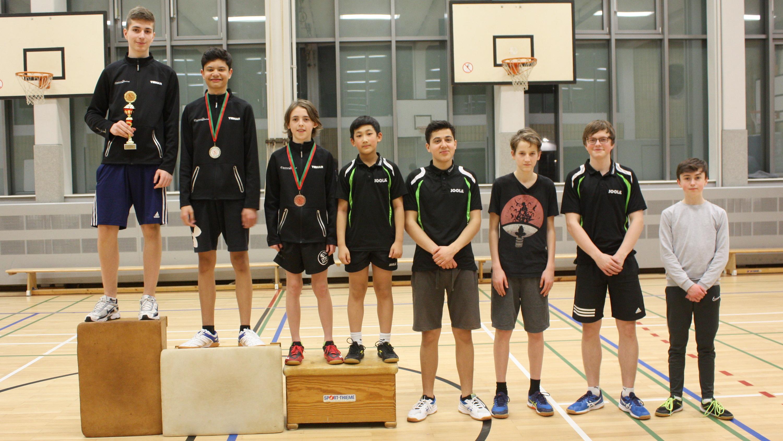 Siegerehrung Vereinsrangliste Jugend